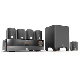 Kit Home Theater Jbl Cinema J5100 5.1 Receiver Jbl 375w 110v