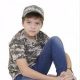 Camiseta Infantil Army Combat
