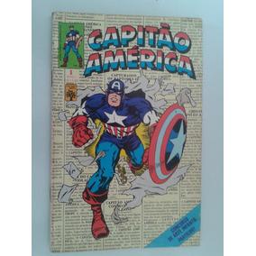 Capitao America Nº 01 Editora Abril 1979 ( Raridade )