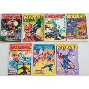 Lote Superaventuras Marvel Formatinho Editora Abril