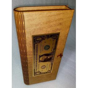 Paquete De 3 Cajas De La Abundancia Corte Laser Dolar Dorado