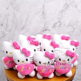 Peluche Hello Kitty 12cm Kawaii Navidad San Valentin