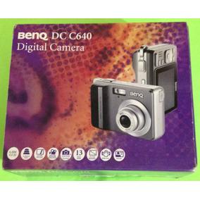 Camera Digital Compacta 6 Mp Benq Dc - C640 Tela De Lcd +nf