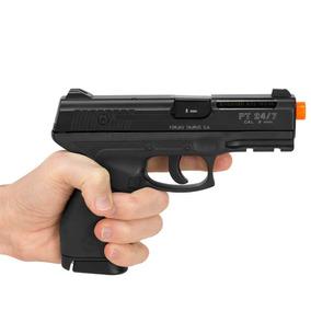 Pistola De Airsoft À Gás Co2 Taurus 24/7 Slide Metal Gnb 6mm