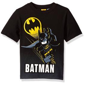 Camiseta Para Niño Batman Lego Dc Comics