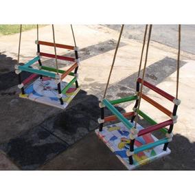 Balanço Infantil Bebê Madeira Criança Infantil Balança