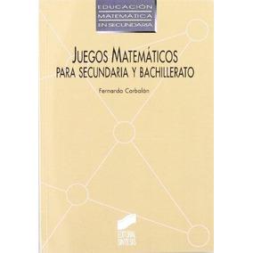Juegos Didacticos De Matematicas Para Secundaria En Mercado Libre Mexico