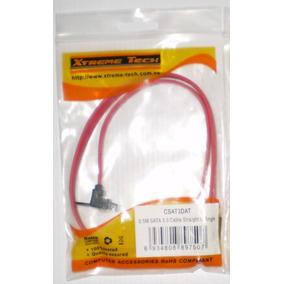 Cable Sata 3 Tipo L Con Pinza De Sujeción Y Clip De Metal