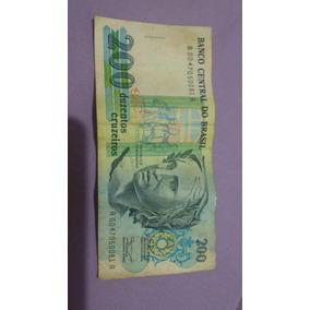 Cédulas 200 Cruzeiros Centenário Republica