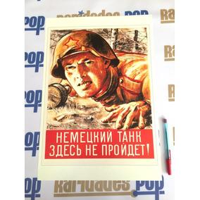 Cartaz 1943 Pôster 2ª Segunda Guerra Mundial Reich Nazismo