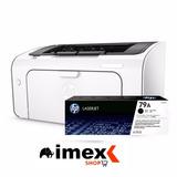 Impresora Hp Laserjet Pro M12w Reeplazo P1102w M15w Imex