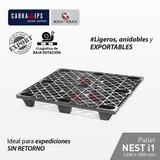 Pallets Plásticos / Nest / 1200 X 1000 Mm / Pe