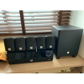 Home Theater Jbl Cinema 5.1 Canais, 435 W, J5100 - Avr101