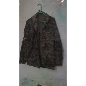 Chamarra Camuflaje Pixeleado Militar Original.