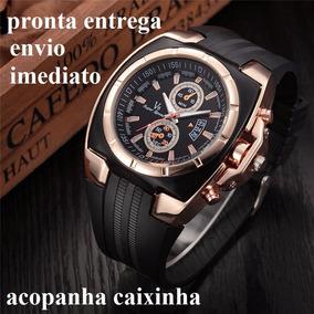 2d875396a08 Relogio Masculino V8 Dourado Speed .relogio De Luxo Barato