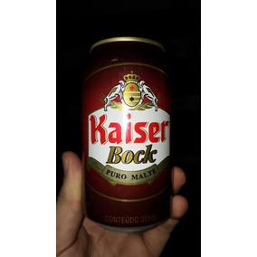 Antiga Lata De Cerveja Kaiser Bock