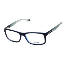 315c0ca22c443 Óculos De Grau Arnette 7089l T 55 C Masculino Azul Fosco