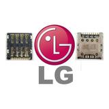 Lector Sim Card Lg Optimus L70 D325 Ms323 D321 L90 D415