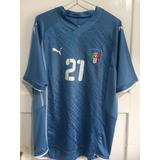 Camisa Da Italia Pirlo 21 - Camisas de Futebol no Mercado Livre Brasil ea3956a3b839b