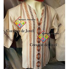 12 Guayaberas Bordadas/artesanales/tipicas - Chiapas-frescas