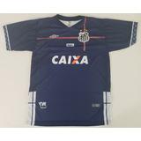 20f5321fef Camisa Do Santos Azul Masculina - Camisas de Times Brasileiros no ...