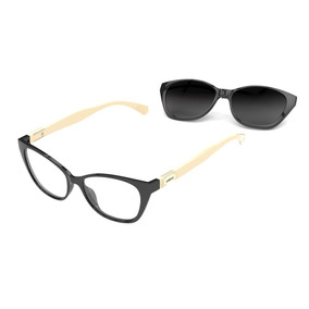 f8d9c372a5fd8 Armação Oculos Colcci Bandy 1 C6122agx52 Clip On Polarizado