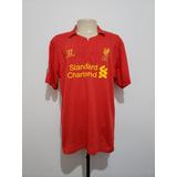 Camisa Oficial Liverpool Inglaterra 2012 Home Warrior Ggg