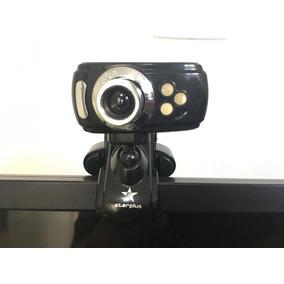 Webcam Com Flash E Microfone