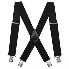 Fasker Mens Suspenders X-back 2 De Ancho Stra Stra Ajustab