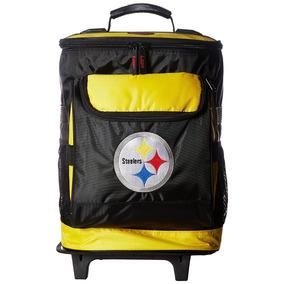fae22da2d5685 Hielera Nfl Steelers Pittsburgh Ruedas Y Mango Telescopico