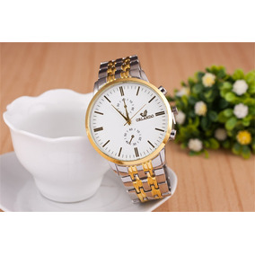 Relógio Masculino Luxo - Branco - Orlando