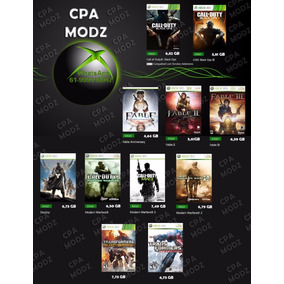 Black Friday Jogos Xbox 360 Mídia Digital Kit Com 11 Jogos
