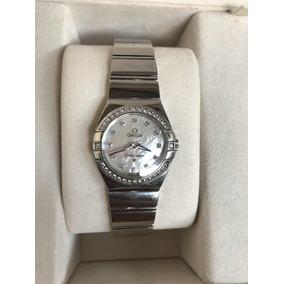 37b8b59139d Relogio Omega Diamantes Masculino - Relógios De Pulso no Mercado ...