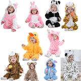 Enterizos Pijama Animales Bebes Niños Suave Importado