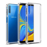 Capa Anti Impacto Crystal Galaxy A7 2018 A750 6.0 + Película