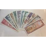 Billetes De Ecuador : Juego Desde 5 A 50000 Sucres Colección