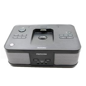 53035e59004 Rádio Relógio Memorex Mi4703pb Entrada P2 Am Fm 10w Novo