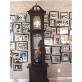 Relógio Carrilhão Pedestal Francês Raro
