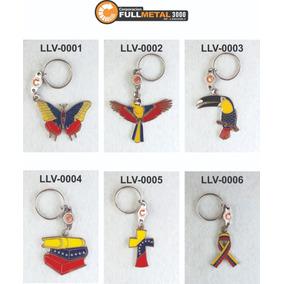 Llaveros De Venezuela Metalicos 1era Calidad