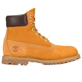 Botas Premium Waterproof Boot Wheat Mujer Timberland Tb004