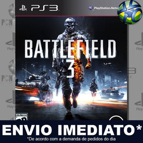 Battlefield 3 Ps3 Midia Digital Psn Envio Imediato