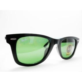 70e7430826141 Óculos Rayban Rb2140 Wayfarer Masculino Feminino Preto Verde