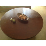 Mesa Em Maçaranduba ,com 1,34 De Diam X 7,50 De Espess