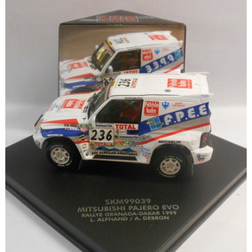Mitsubishi Pajero Rally Dakar 1999 1:43 Jeep 4x4