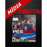 Pro Evolution Soccer 2017- Ps3 Digital Psn Envio Em Minutos