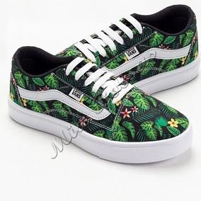 90cae6dc9b1 Tenis Vans Feminino Floral - Sapatos no Mercado Livre Brasil