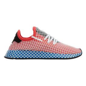 Tenis adidas Deerupt Runner J Malla Blanca Mujer No. Da9610