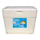 Caixa De Isopor 21 Litros Termica Alça Gelo Cerveja Isoterm