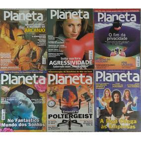 Lote Revistas Planeta - 22 Edições - Brinde Mapa Celeste