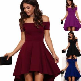8ee52f01a Vestidos Elegantes Cortos De Graduacion Noche Mujer - Vestidos de ...